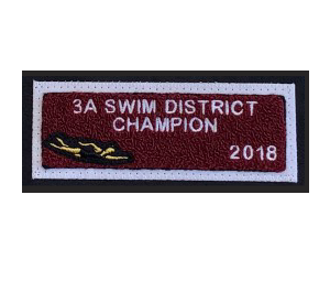 1/2 Champ, District, Honor, achievement or award patch